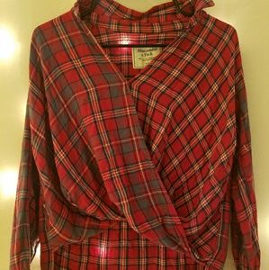 Abercrombie & Fitch Red Flannel [Used]